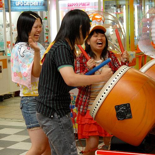 Photo prise dans une salle de jeu à Miyazaki
