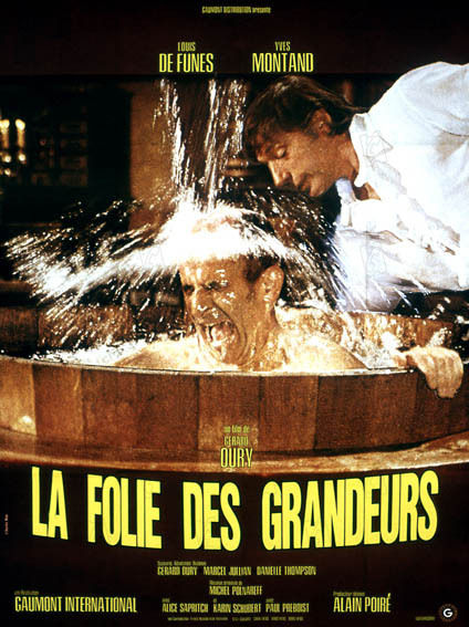 la folie des grandeurs 1973 rŽal : GŽrard Oury Collection Christophel